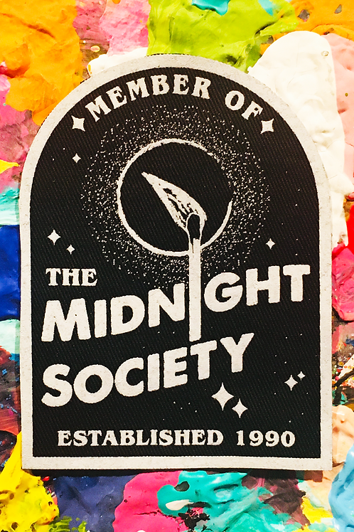 midnight society ARE YOU AFRAID OF THE DARK iron on patch