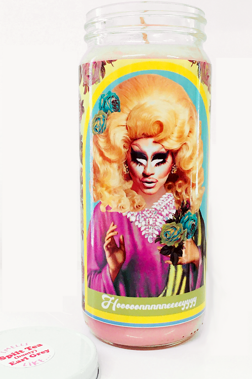 skinny legend - Trixie Matell - drag race inspired prayer candle