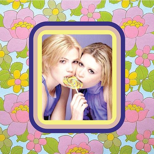 natasha lyonne & clea duvall - but they're cheerleaders - vinyl sticker