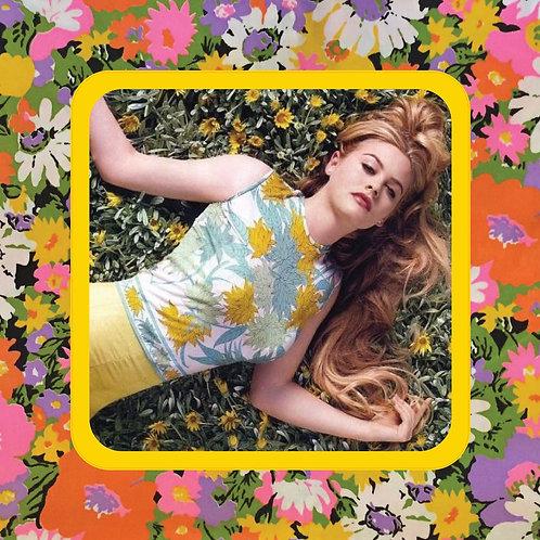 alicia silverstone - flower girl - vinyl sticker