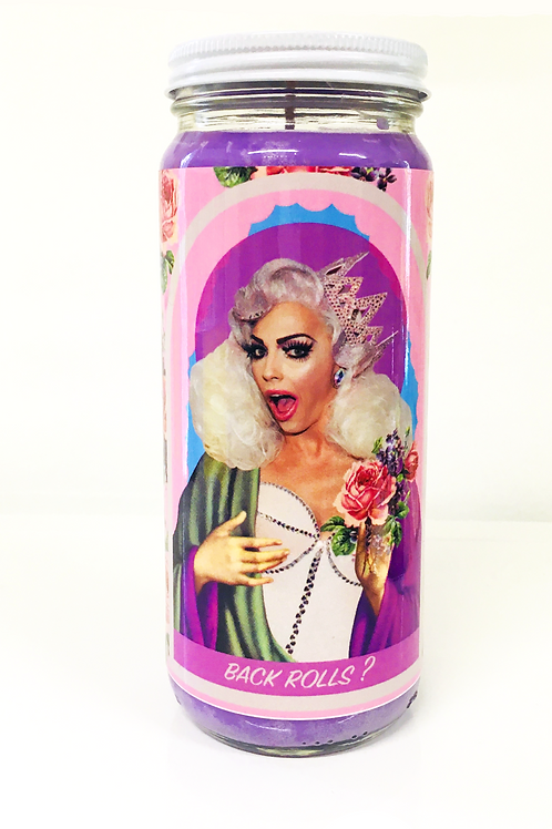 alyssa edwards rupaul's drag race inspired prayer candle