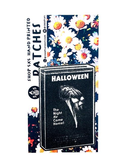 halloween movie patch vintage horror