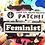 Thumbnail: FEMINIST iron on patch