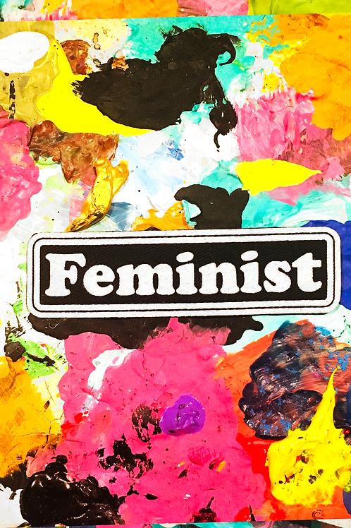 FEMINIST iron on patch