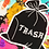 Thumbnail: trash iron on patch