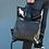Thumbnail: Объёмный кожаный рюкзак коричневый