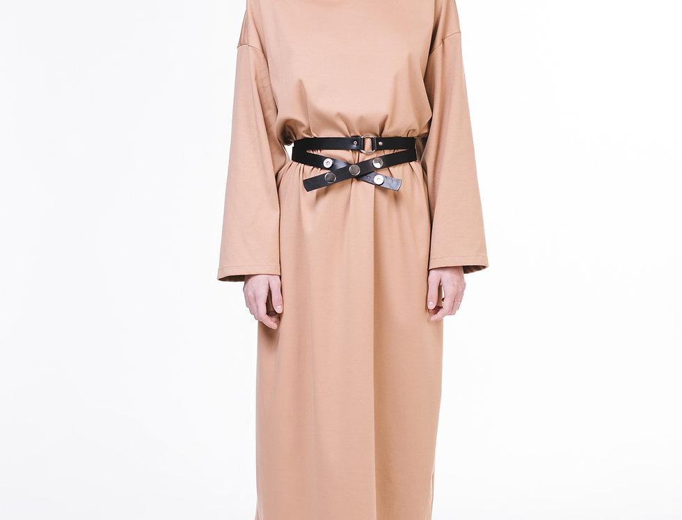 Платье трикотажное oversize