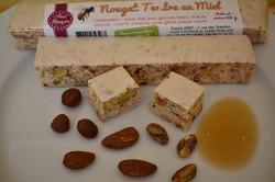 Nougat tendre pistache