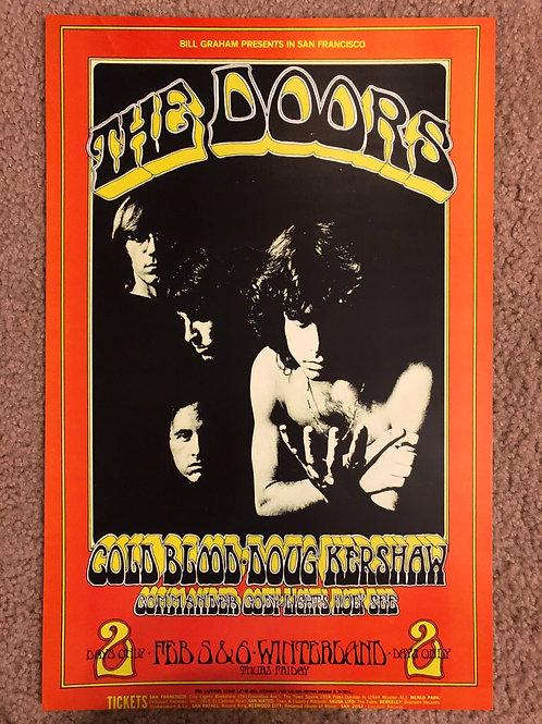 The Doors Cold Blood Dog Kershaw (11x17)