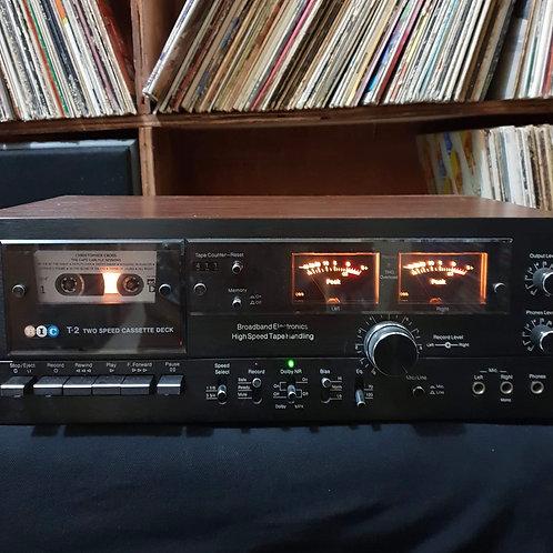 BIC T-2 2 Speed Cassette Deck
