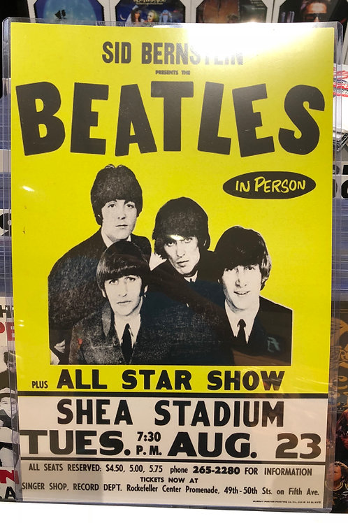 The Beatles All Star ShowConcert Poster