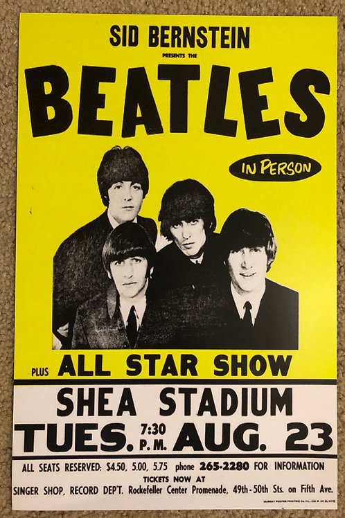 The Beatles All Star Show Shea (11x17)