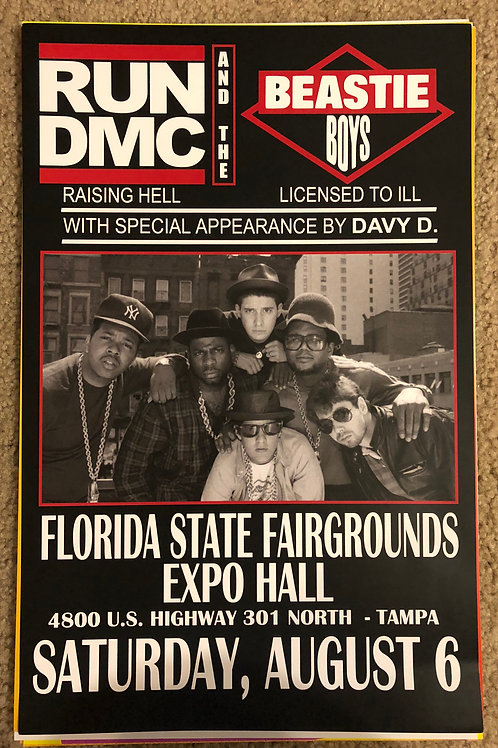 Run DMC Florida State (11x17)