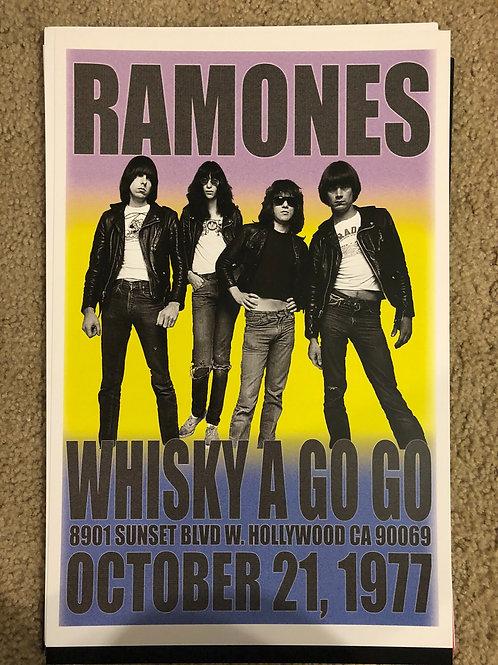 Ramones Whisky A- Go-go