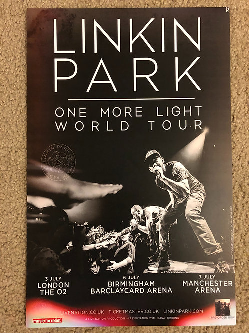 Linkin Park One More Light (11x17)