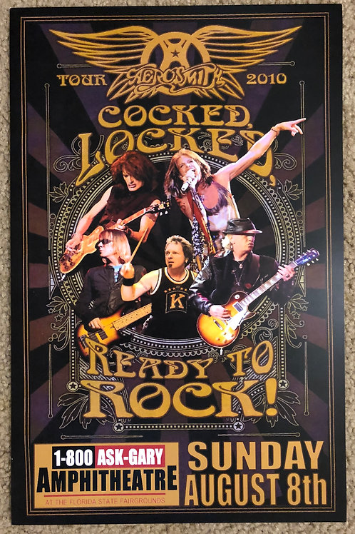Aerosmith Locked and Loaded (11x17)