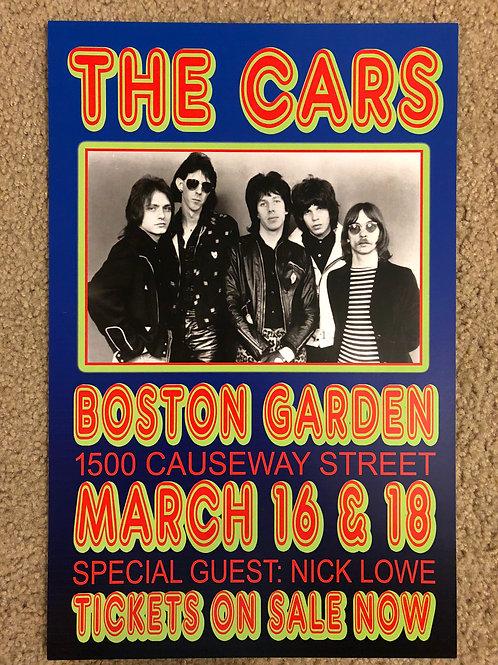 The Cars Boston Garden (11x17)