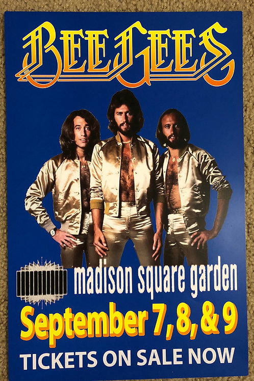 Bee Gees Madison Square Garden (11x17)