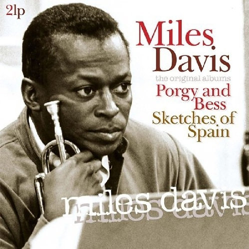 MILES DAVIS-PORGY AND BESS / SKETCHES OF SPAIN (Double-LP)