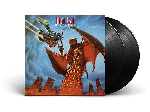 Meat Loaf ‎– Bat Out Of Hell II: Back Into Hell (LP)