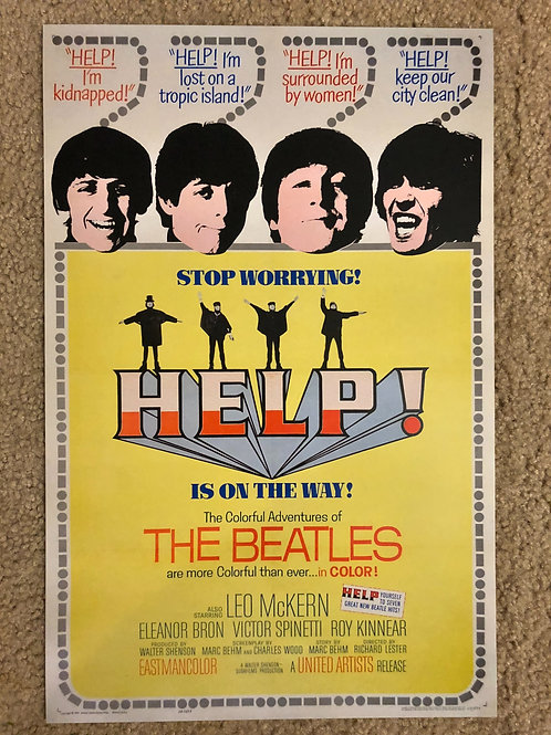 The Beatles Help (11x17)