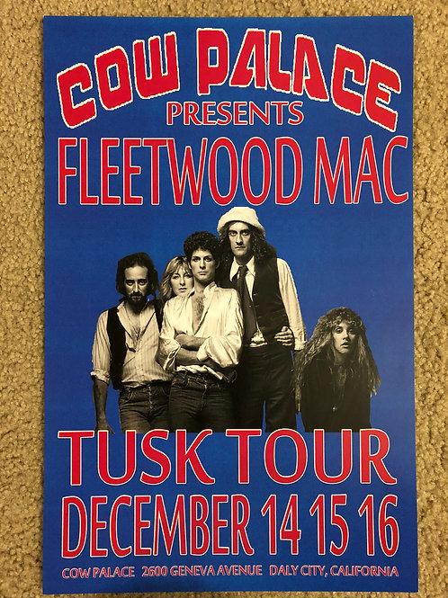 Fleetwood Mac Tusk Tour (11x17)