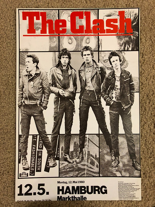 The Clash Band Members Poster (11x17)