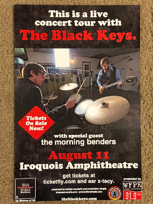 The Black Keys Iroquois Amphitheater (11x17)