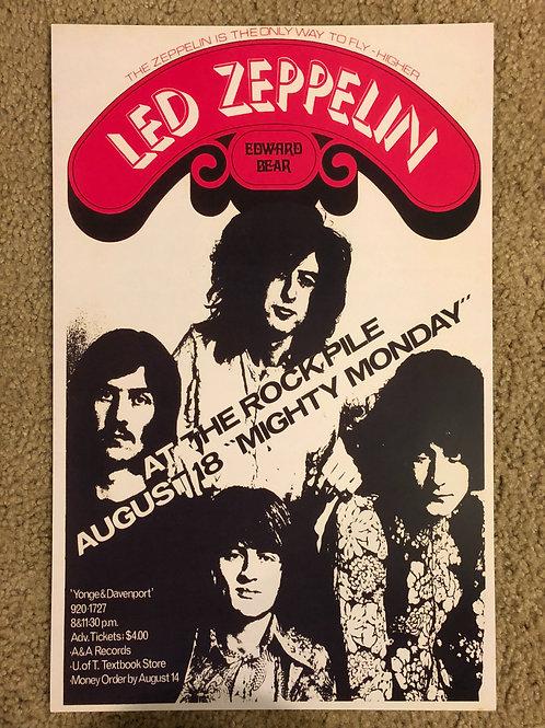 Led Zeppelin at the Rockpile (11x17)