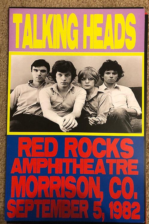Talking Heads at Red Rocks (11x17)