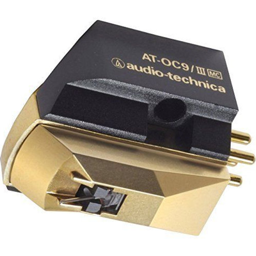 Audio Technica AT-OC9/III MicroCoil Special Line Contact Turntable Cartridge