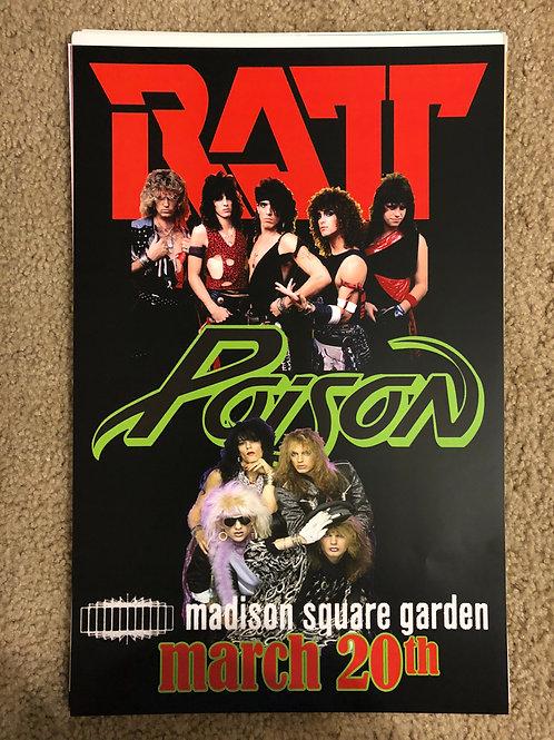 Ratt and Poison MSG