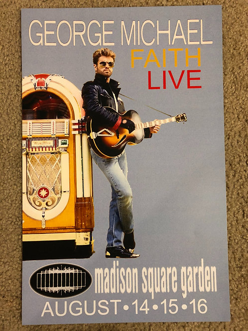 George Michael Faith Live (11x17)