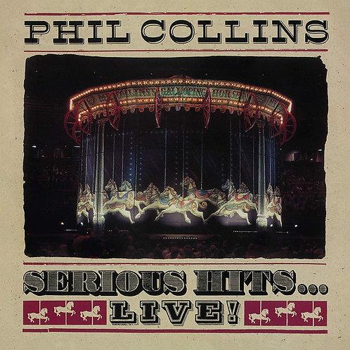 Phil Collins- Serious Hits Live 2 LP Vinyl
