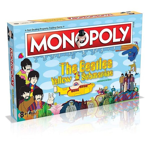 Monopoly- The Beatles Yellow Submarine (50th Anniversary Edition)