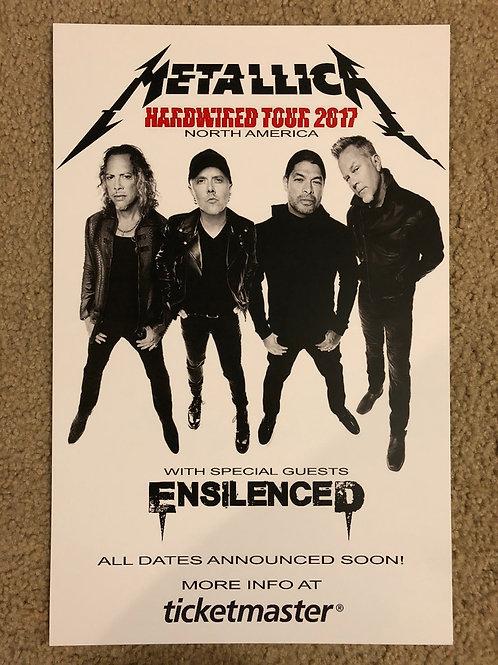 Metallica Ensilenced (11x17)