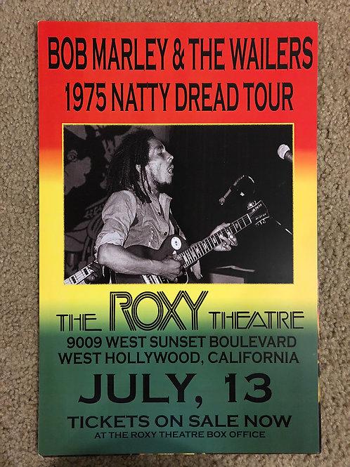 Bob Marley ate the Roxy (11x17)