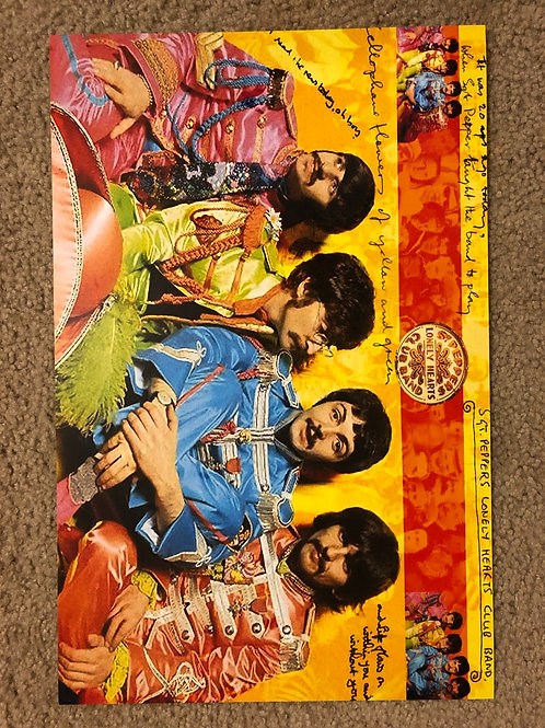 The Beatles Sgt. Peppers (11x17)