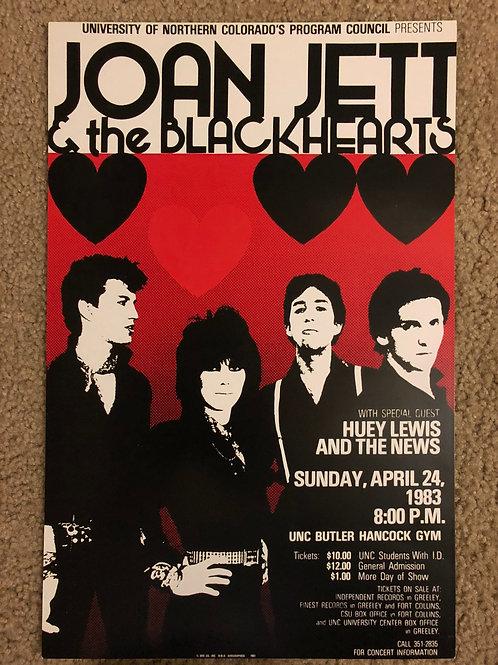 Joan Jett and the Blackhearts (11x17)