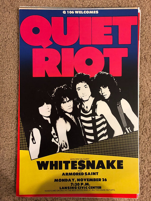 Quiet Riot with Whitesnake