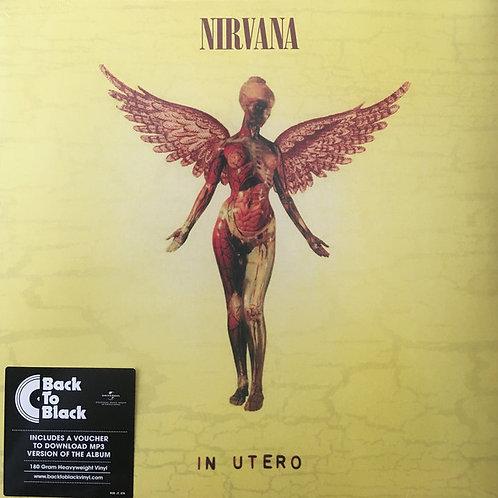 Nirvana - In Utero [Import] (180 Gram Vinyl, MP3 Download) (L.P.)