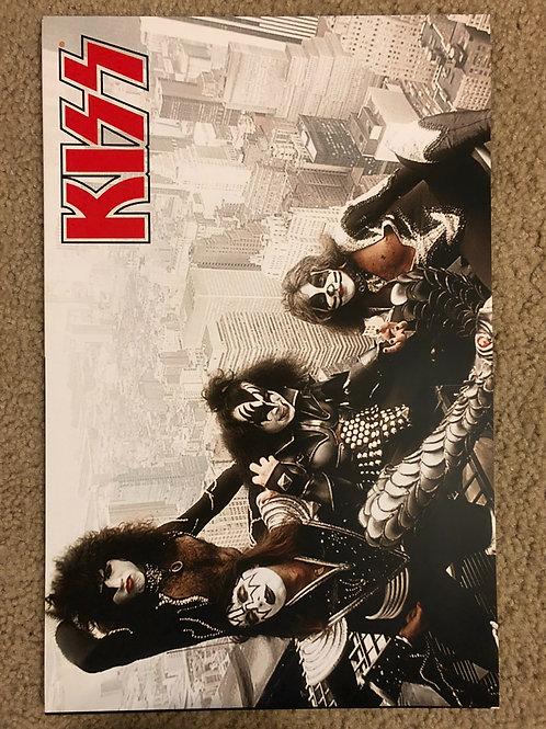 Kiss Landscape Poster (11x17)