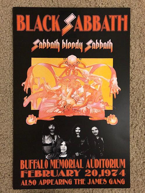 Black Sabbath Sabbath Bloody Sabbath (11x17)