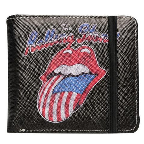 Rolling Stones Tongue USA Wallet