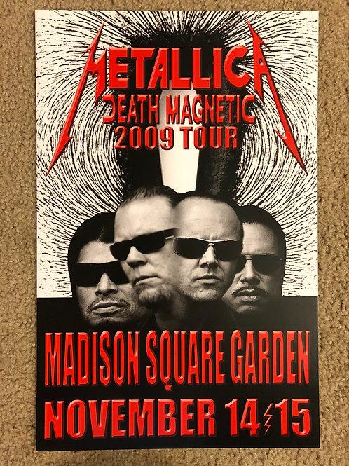 Metallica Death Magnetic Madison (11x17)