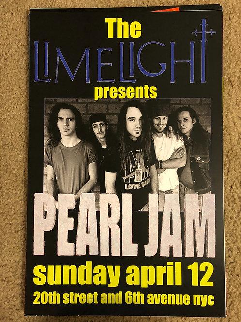 Pearl Jam Limelight Presents
