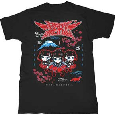 Baby Metal-Wings Mens Soft T-Shirt
