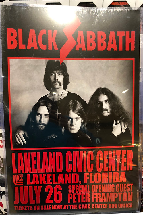 Black Sabbath Lakeland Civic Center