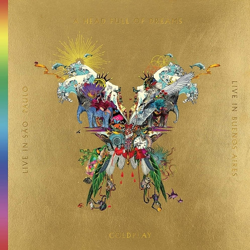 Coldplay Live in Buenos Aires (3 LPVinyl)
