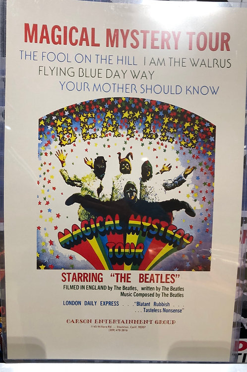 The Beatles Magical Mystery Tour Concert Poster (11x17)